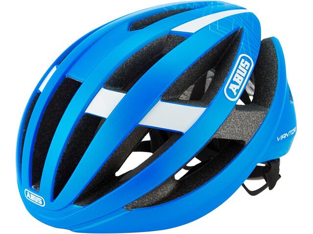 ABUS Viantor Casco de carretera, steel blue